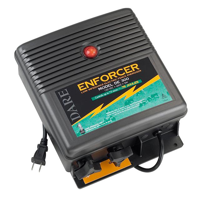 Chargeur de clôture électrique, Enforcer, 40 km, 110 V
