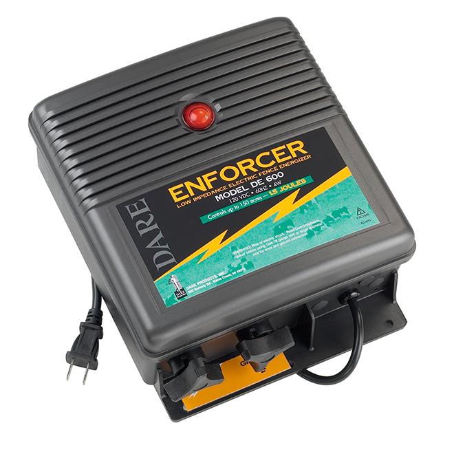 Electric Fence Charger - Enforcer - 80 km Range - 120 V