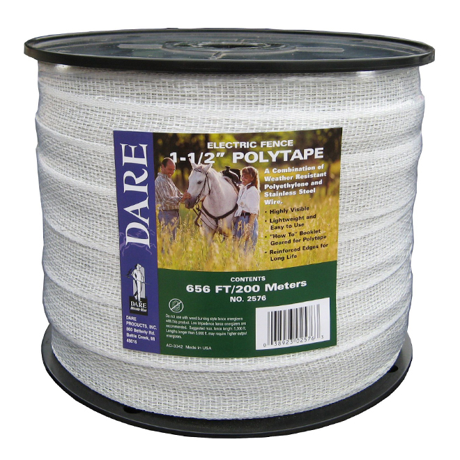 """Polytape - 15 Strands Stainless Steel Wire - 1/2"""" x 656'"""