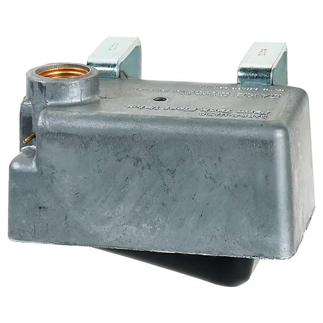 Robinet à flotteur en aluminium pour réservoir, 300 gal/h