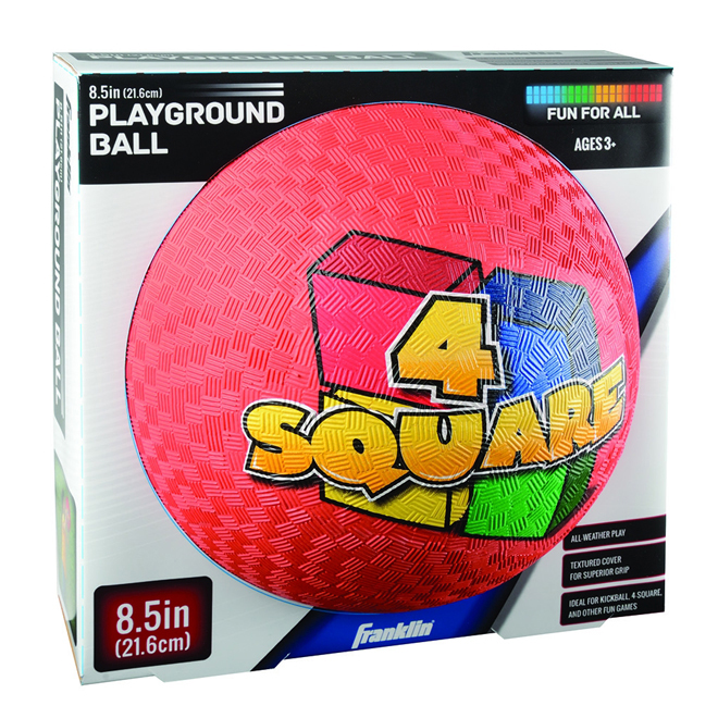 Playground Rubber Ball - 4 Square - 8 1/2""