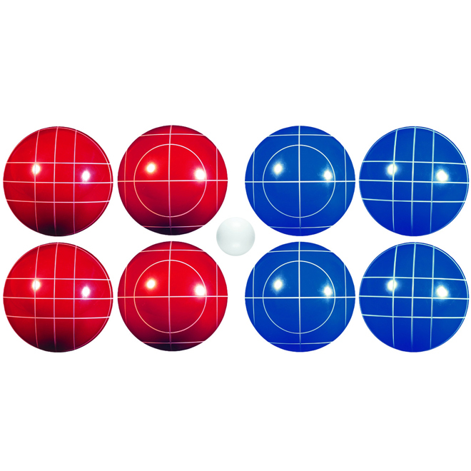 Classic Bocce Ball Set - 8 Balls/2 Colours