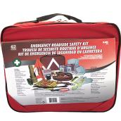Emergency Road Safety Kit - 62 Pieces