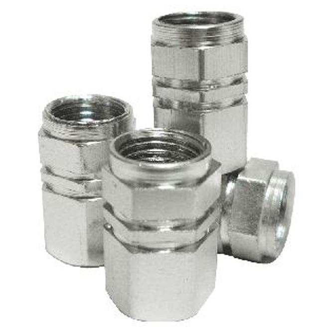 Capuchon de valve pour pneu, paquet de 4