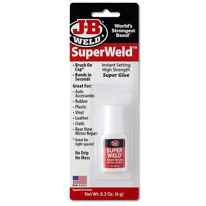 Super colle SuperWeld, robuste, 6 g