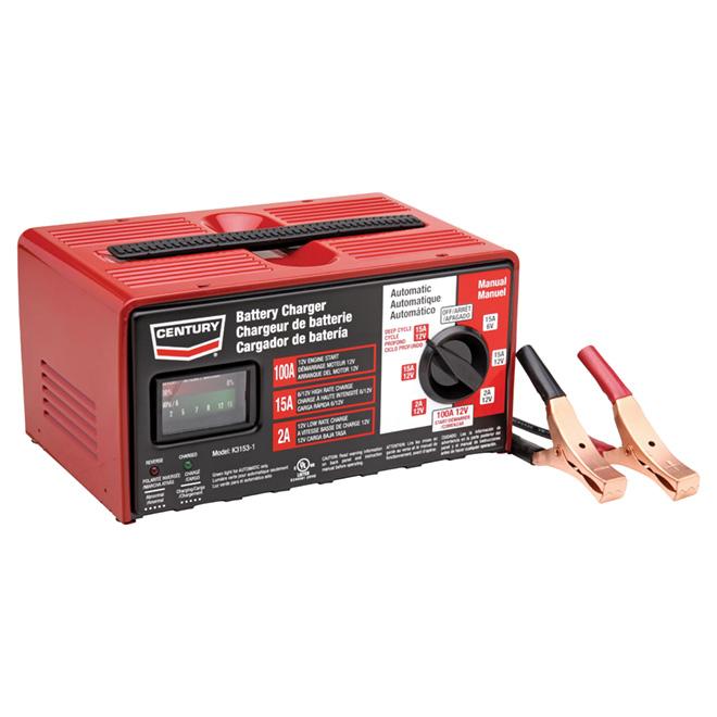 Chargeur de batterie, 12 V, 100 A