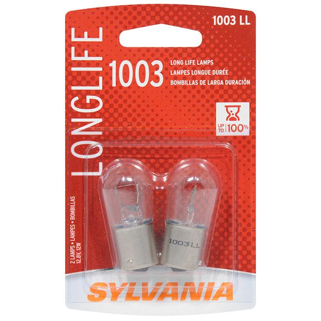 Car Long Life Miniature Bulb - 1003 - Pack of 2