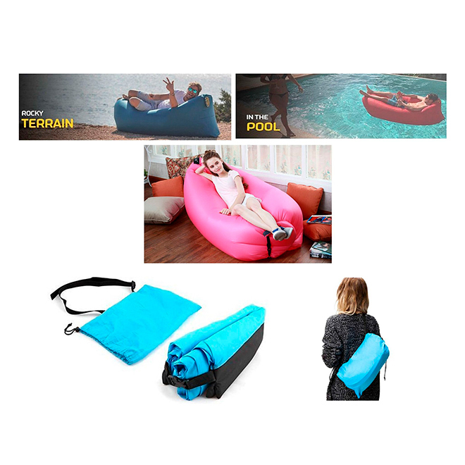 "Inflatable Air Sofa Lounger - 104"" x 28"""
