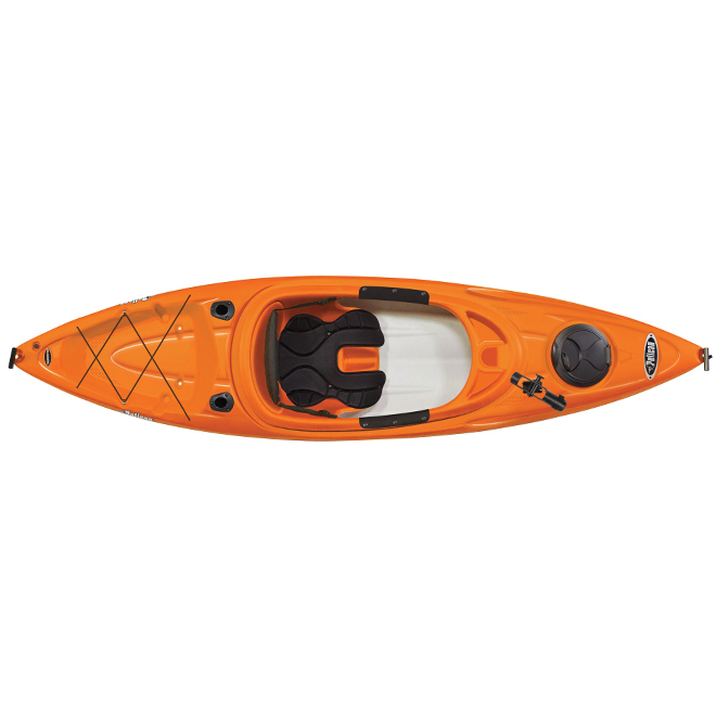 Kayak fermé, Bounty 100X Angler, 1 personne, 10'