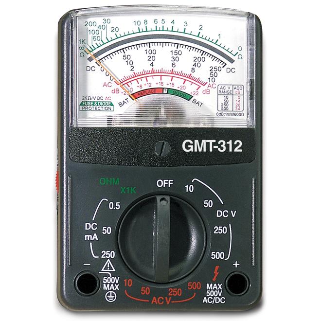 Multimètre analogique, 5 fontions