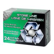 Used Premium-Brand Golf Balls - 24 Pack