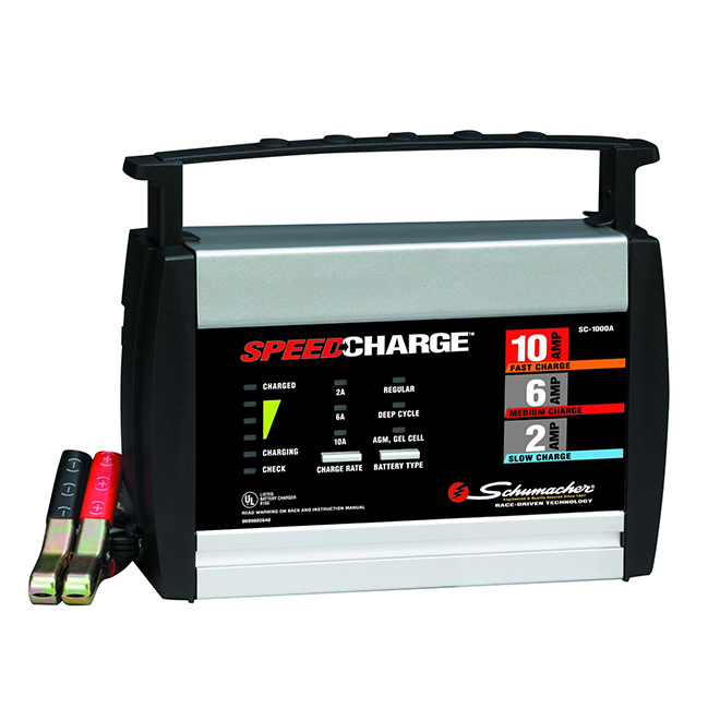 Automatic Battery Charger/Maintainer - 12V - 2/6/10A