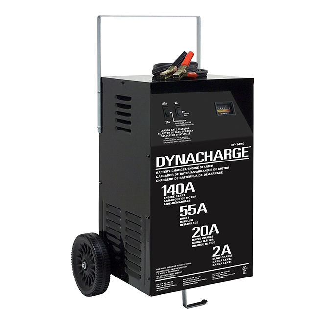 Manual Wheel Battery Charger - 2/20/55/140 Amp