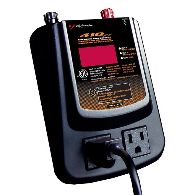 Onduleur numérique avec écran numérique, 410 W