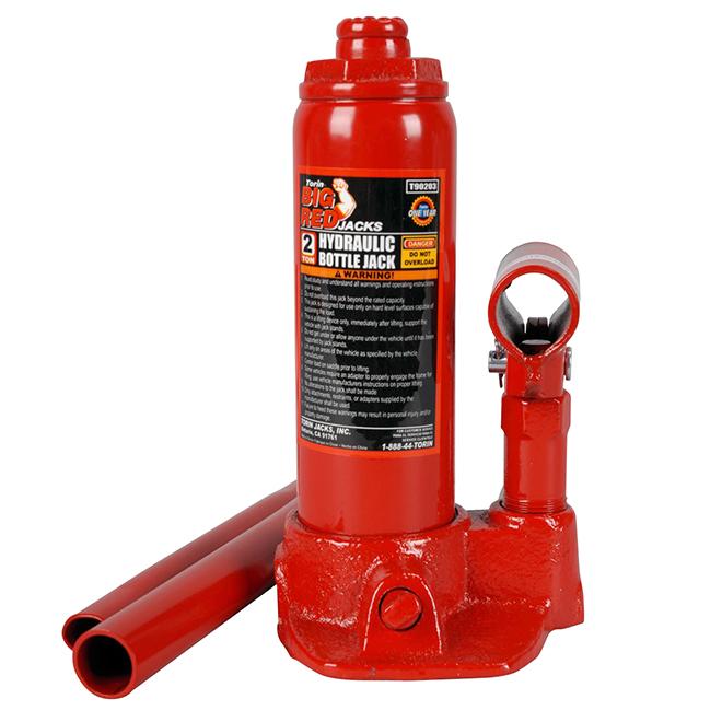 Hydraulic Bottle Jack - 2 Ton