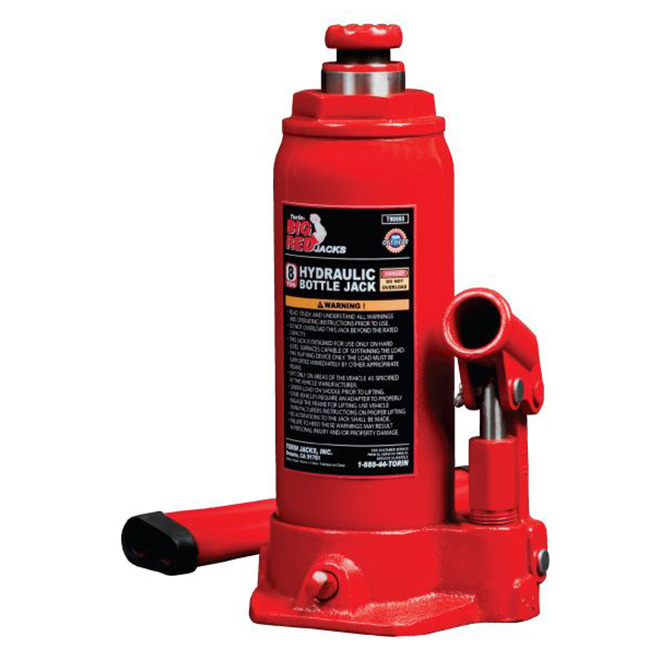Hydraulic Bottle Jack - 8 Ton