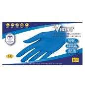 Disposable Gloves- Vinyl - Medium - Blue