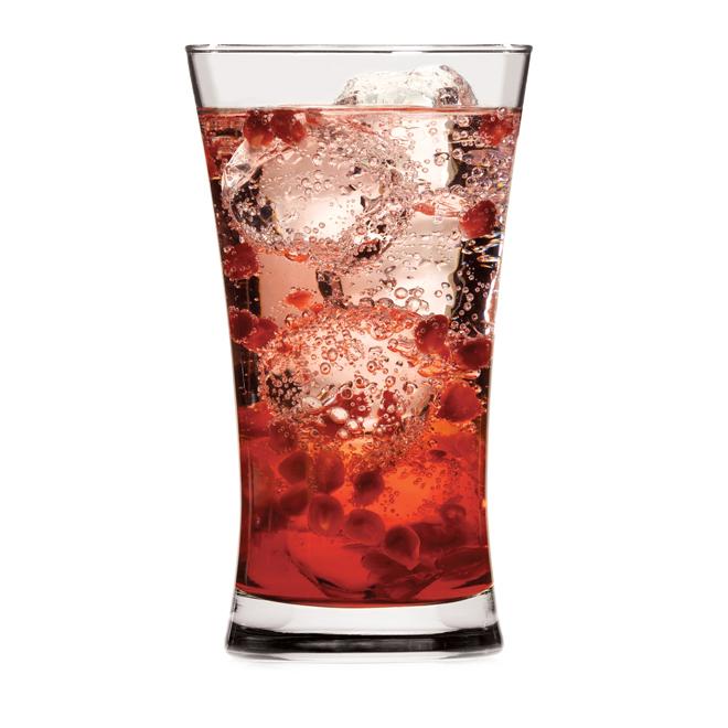 Set of 4 glasses - 17 oz - Clear