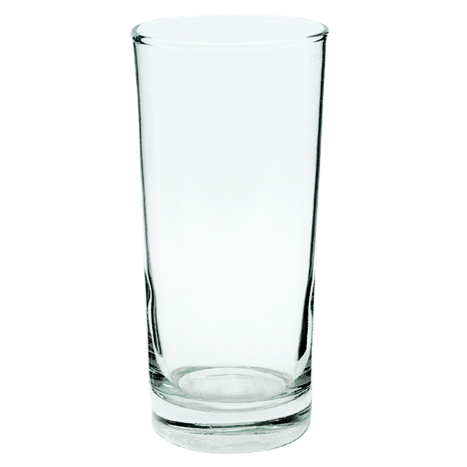 Glass Tumbler - Clear - 15 oz