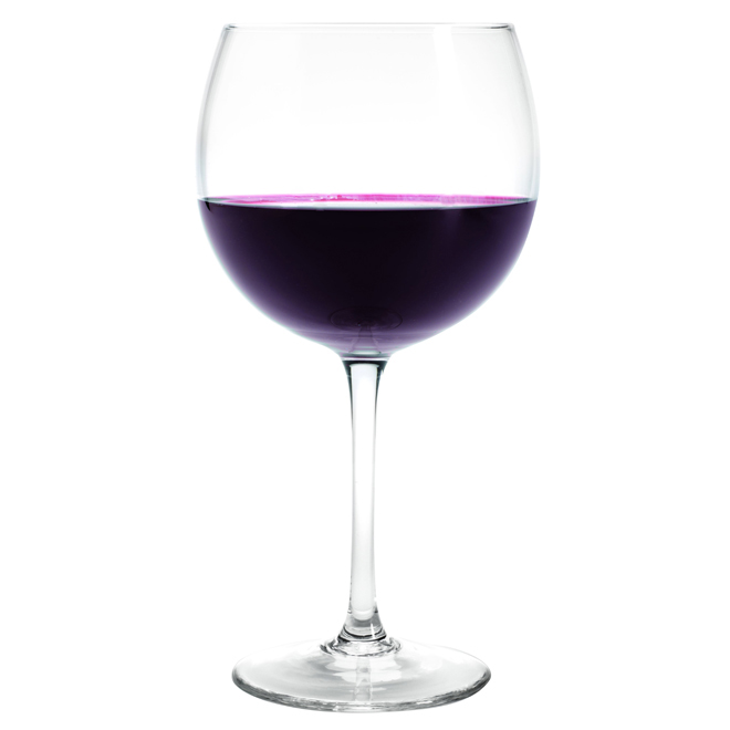 Red Wine Glasses - Crystal - Pack of 4 - 22 oz