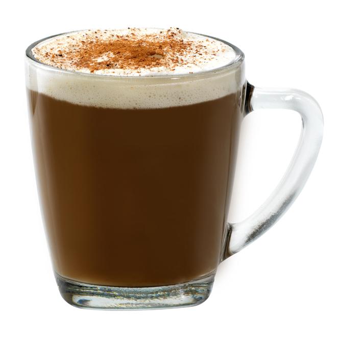Tasse à café avec base carrée, 14 oz, clair