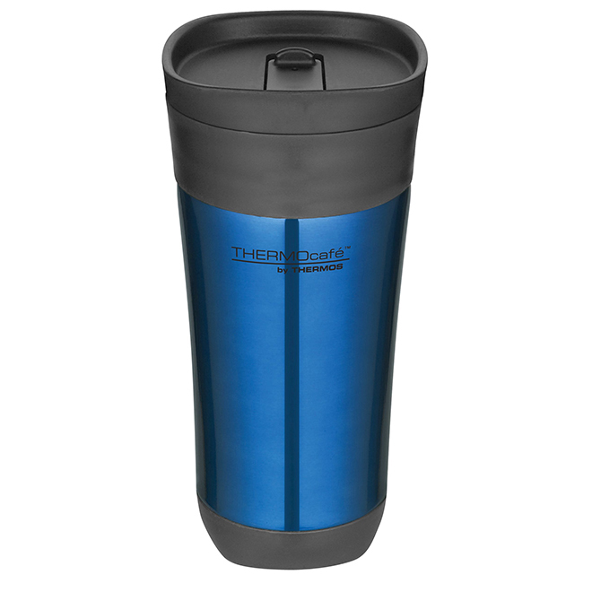 Travel Tumbler with Plastic Slide Lock Lid - 470 ml