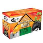 Construction Garbage Bags - 42 x 48 - Black - 15-Pack