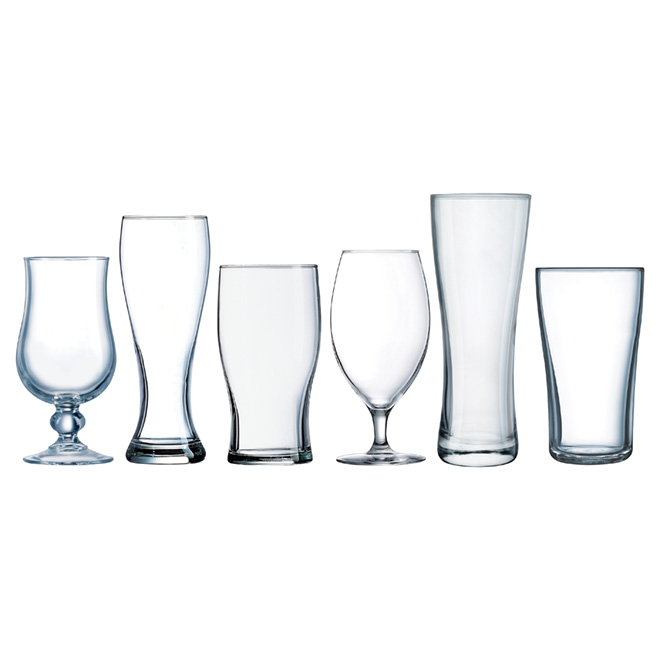 Craft Beer Glasses Set - 6-Pack