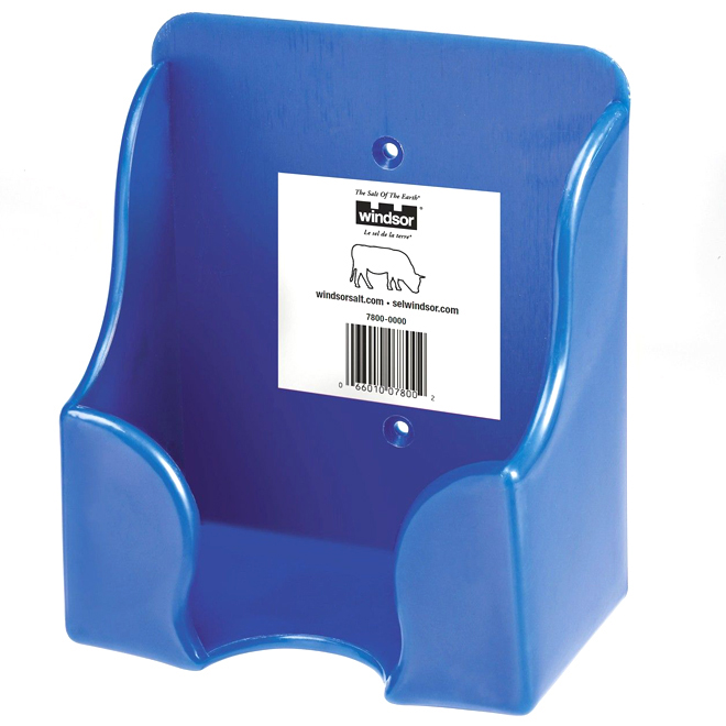 Salt Lick Holder - Blue - 2 kg