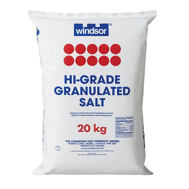 Sel fin de haute qualité, 20 kg