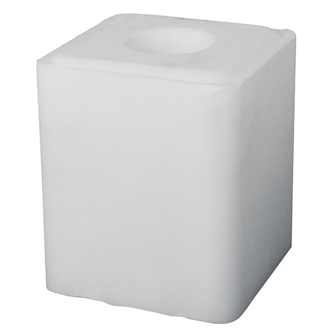 Bloc de sel ordinaire, blanc, 20 kg