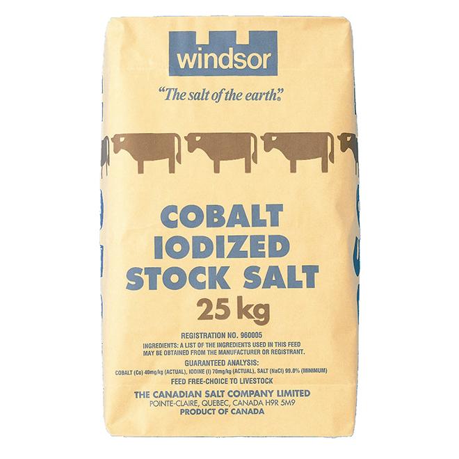 Cobalt Iodized Salt - 25 kg