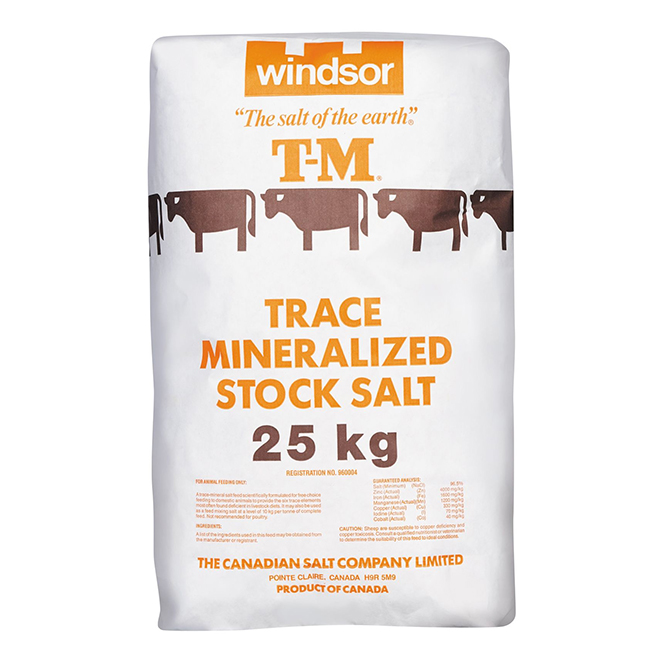 Mineralized Salt for Cattle and Sheep - 25 kg