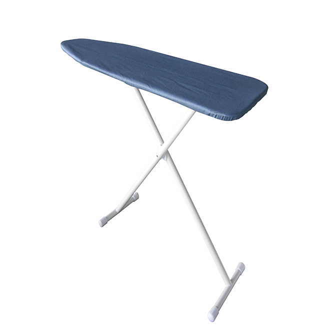 """Ironing Board with Cover - 54"""" x 14"""" - Blue"""