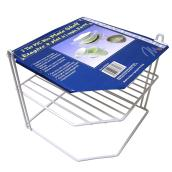 Corner Wire Shelf - 2-tier