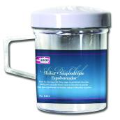 Saupoudreuse en plastique transparent, 1 tasse