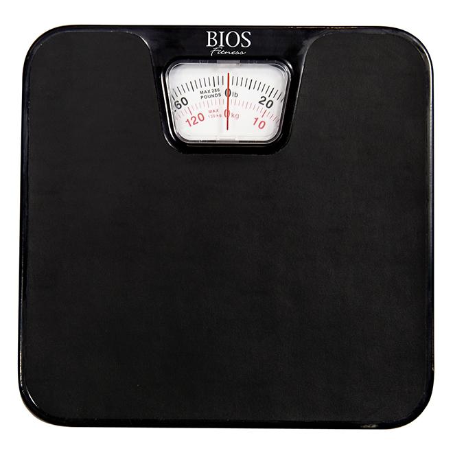 Pèse-personne analogique, noir