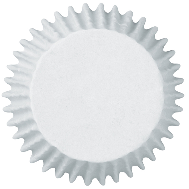 Baking Cup - White -75-Pack