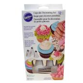 Cupcake Decorating Set - 12 Pieces