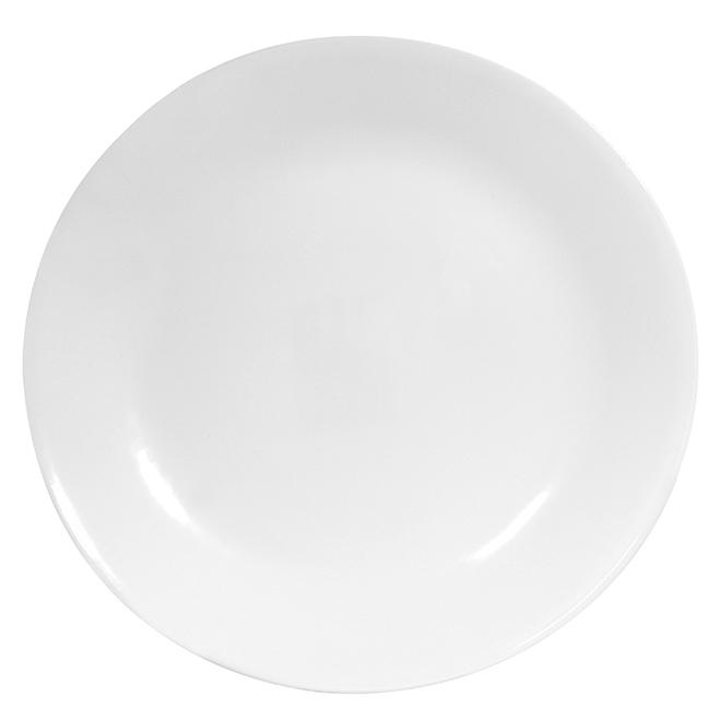 Assiette à déjeuner givre hivernale, 8 1/2''
