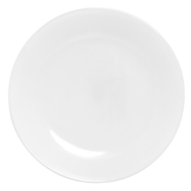 Winter Frost White Dinner Plate - 10 1/4''