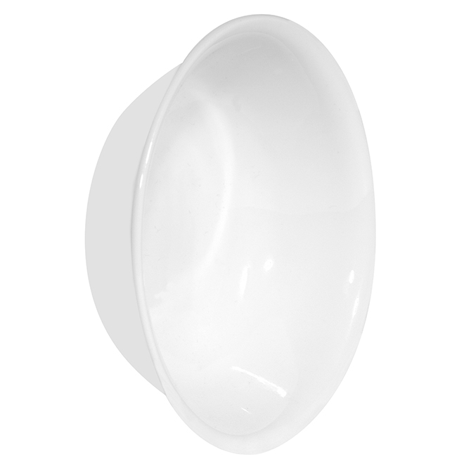 Winter Frost White Dessert Bowl - 10oz