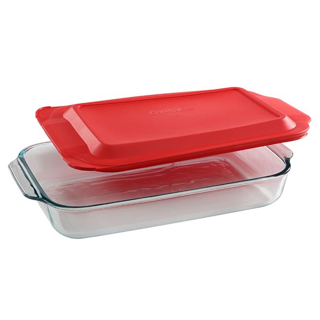 Oblong Bakeware Pyrex 9 X 13 3 Quart 1107108 Rona