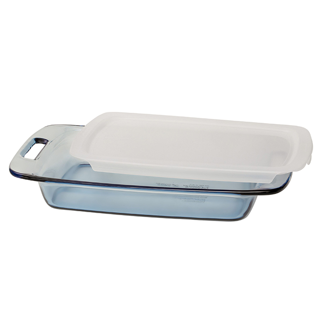 Oblong Bakeware with Lid - Blue - 13'' x 9''