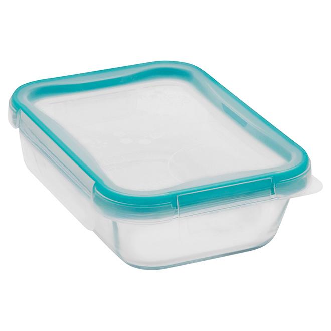 Rectangular Glass Food Storage - 2 Cup