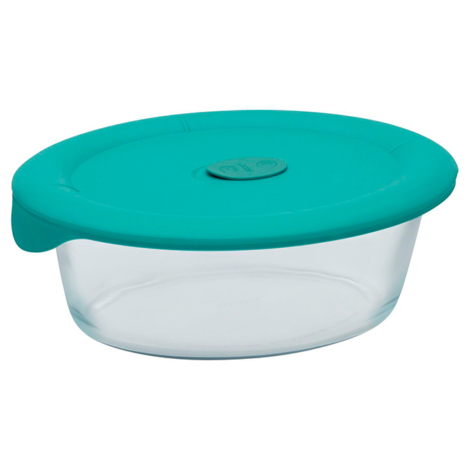 Oval Glass Food Storage - 2.8L