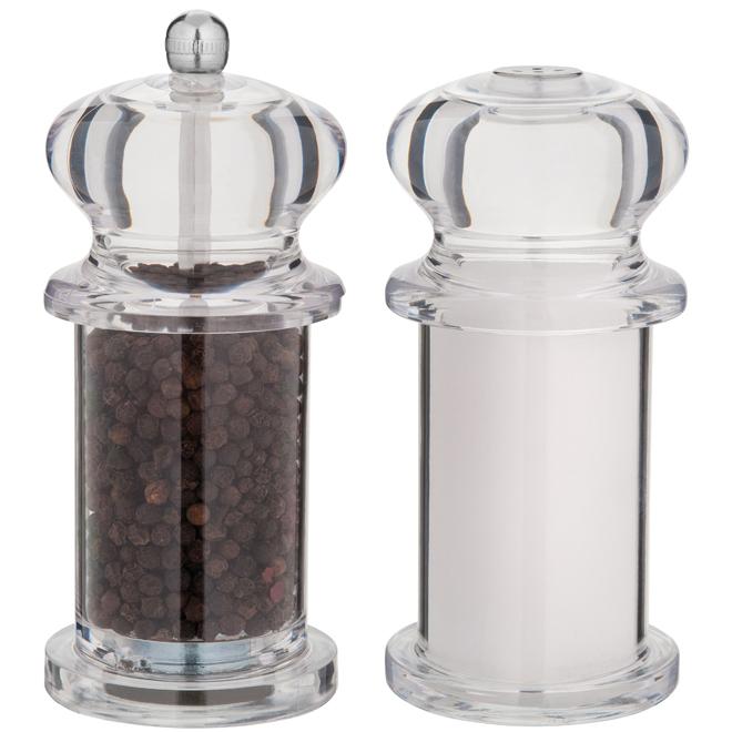 Salt and Pepper Mills - Acrylic