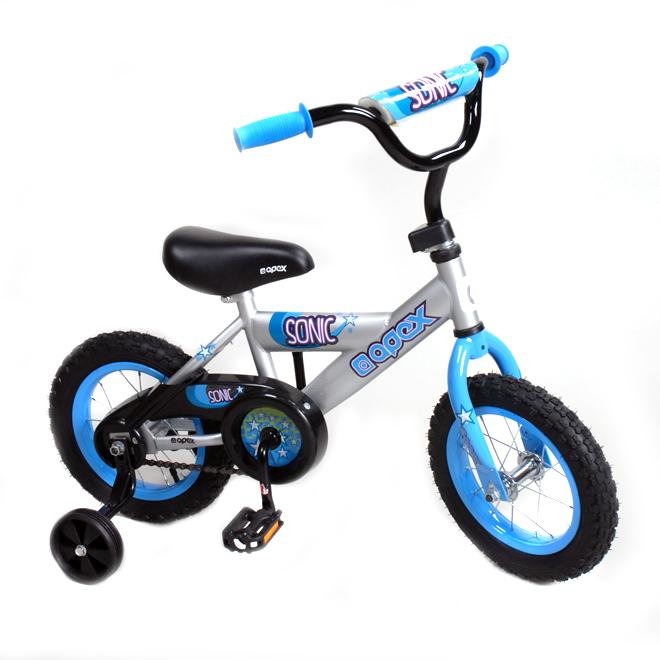 """Vélo à roues d'apprentissage pour garçon, 12"""""""