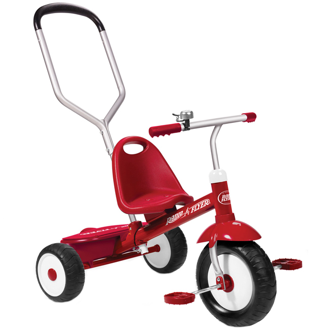 Tricycle pour enfant, Steer & Stroll, 2- 5 ans, 19""