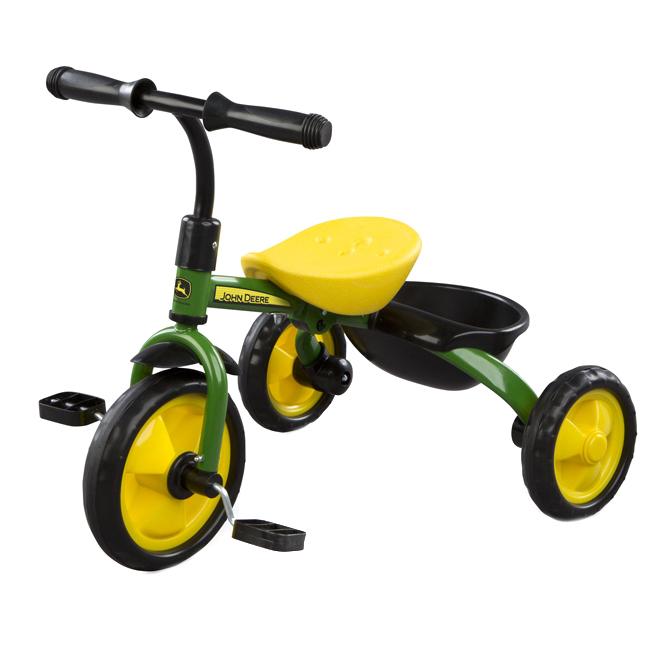 Kid's Trike - John Deere- Ages 2+ - Green